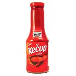Kečup ostrý sklo 500g
