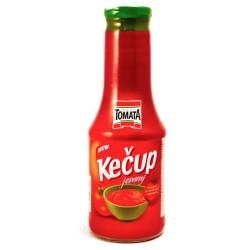 Kečup jemný sklo 500g