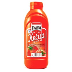 Kečup jemný plast 1000g