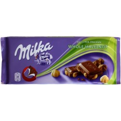 Milka Wholenut 100g