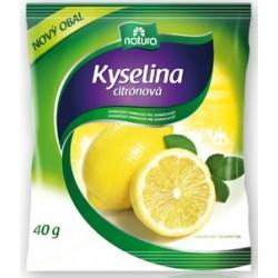 Kyselina citrónová 40 g