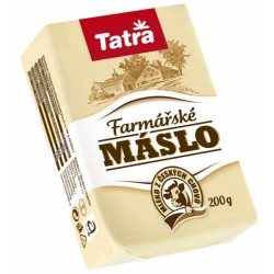 Farmářské máslo 84% 200 g