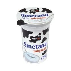 Milkin zakysaná smetana 16% 200g