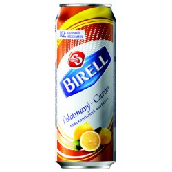 Birell polotmavý citrón 500ml