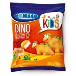 Sýr obalovaný dinosaurus Nowaco Kids 300g