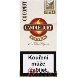 Candlelight Filter White 10´s