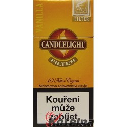 Candlelight Filter Gold 10´s