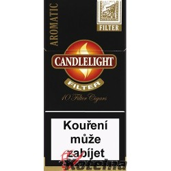 Candlelight Filter Black 10´s