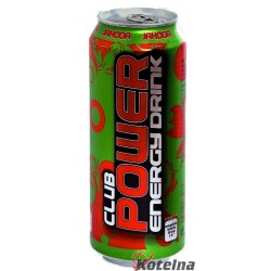 Power Club Energy Drink jahoda 500ml