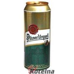 Pilsner Urquell plech 500ml