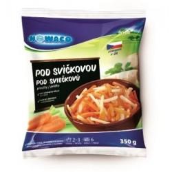 Zeleninová směs pod svíčkovou proužky 350g