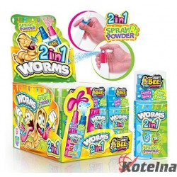 Johny Bee Worms 2in1 20g
