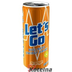 Let'sGo Wellness Drink Orange 250ml