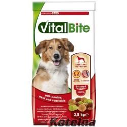 Vitalbite granule pes drůbeží & hovězí 2,5 kg