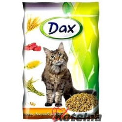 Dax granule Kočka 1kg Drůbeží