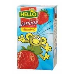 HELLO nápoj lesní jahoda 250ml