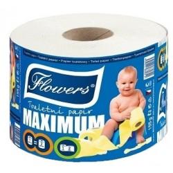 Toaletní papír Flowers Maxi Solo